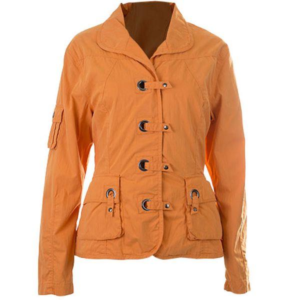 Oranžová bunda Seaside