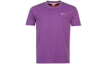 Pánské tričko Slazenger fialové
