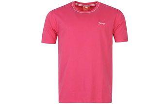 Pánské tričko Slazenger růžové