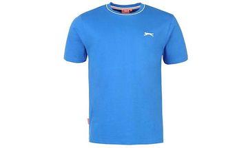 Pánské tričko Slazenger modré