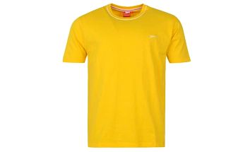 Pánské tričko Slazenger žluté