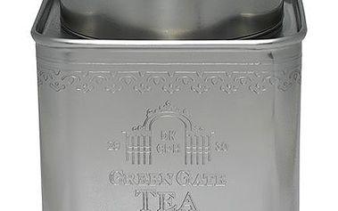 Nádherná plechová dóza Tea