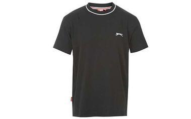 Pánské tričko Slazenger černé