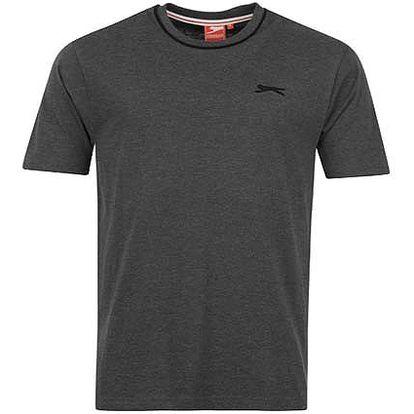 Pánské tričko Slazenger tmavě šedé