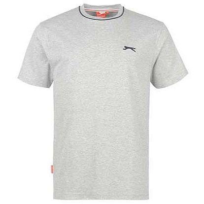 Pánské tričko Slazenger světle šedé