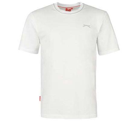 Pánské tričko Slazenger bílé