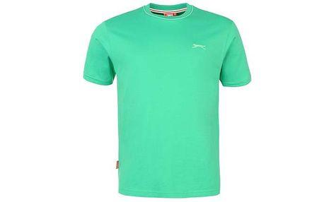 Pánské tričko Slazenger zelené