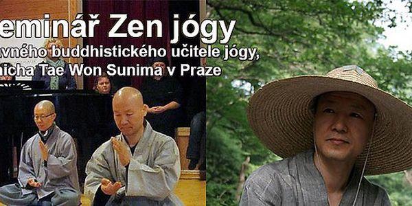 Dvoudenní seminář Jógy buddhistického mnicha v Praze - 7. a 8. září 2013