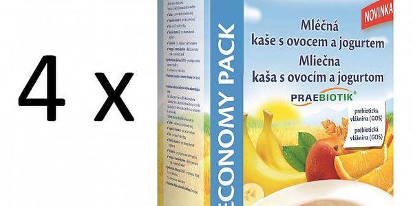 Prebiotická HiPP Mléčnoobilná kaše s ovocem a jogurtem 500g