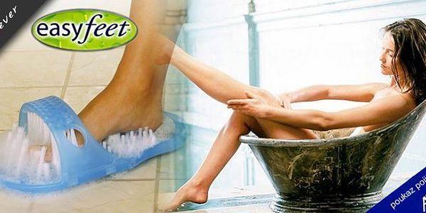 Čistící a masážní pantofel! Masážní pantofel obsahuje tisíc štětin, které důkladně odstraní všechny nečistoty a příjemně namasíruje bolavé a unavené chodidlo!
