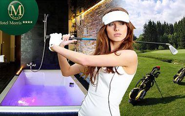 Luxusní golfový pobyt s wellness