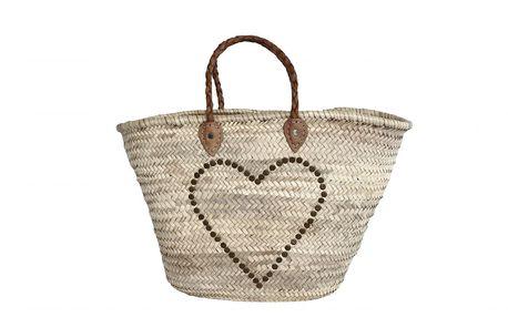 Maxi slámová taška Morocco