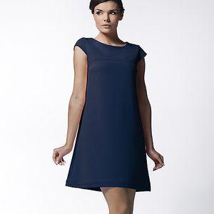 Námořnicky modré šaty (Awama)