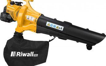 Benzínový motorový vysavač/foukač Riwall