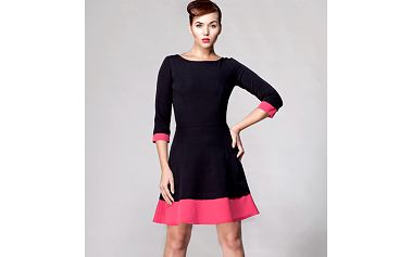 Černé šaty Jazz (Awama)