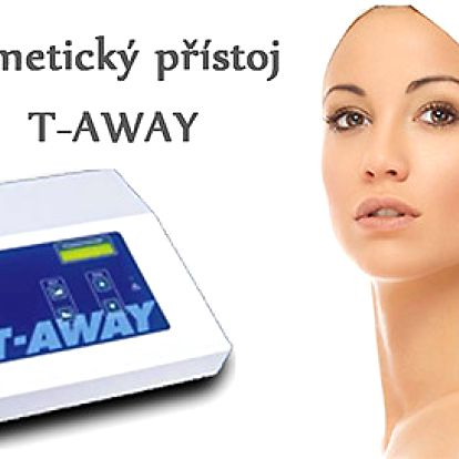 T-AWAY- odstranění žilek v obličeji, fibromu, névu nebo pigmentových skvrn