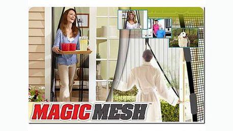 Magnetická síťka na dveře proti otravnému hmyzu za báječnou cenu 139 Kč! Ochraňte své obydlí od otravného hmyzu a užijte si čerstvý vzduch bez nepříjemných štípanců!