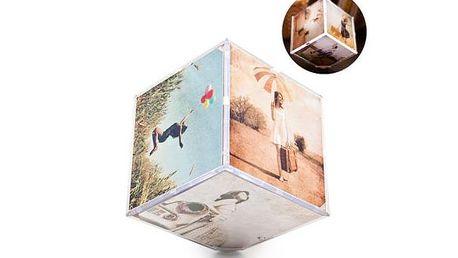 Fotorámeček kostka 6x15x15 cm