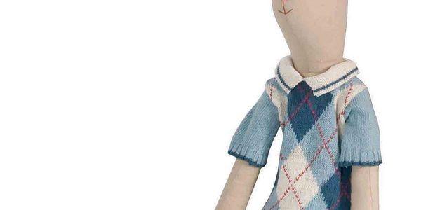 Zajíc Erik 107 cm, 100% bavlna, vhodné pro děti od 3 let.