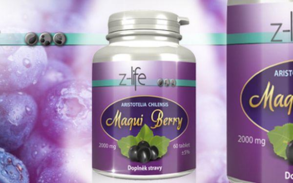 MAQUI BERRY: Extrémně silný antioxidant, ozdravný doplněk stravy