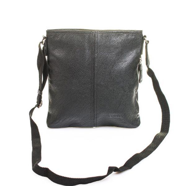 Unisex černá taška Crossbody Midzar