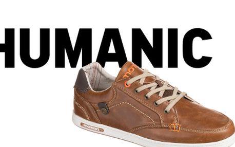 Prodejna Humanic v OC Nový Smíchov - Lehoučké vycházkové boty Aircool za 699 Kč z původních 999 Kč