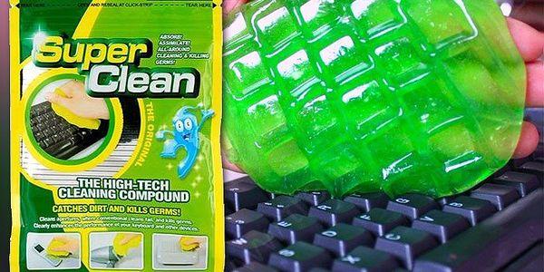 Revoluční čistící hmota na elektroniku a klávesnice