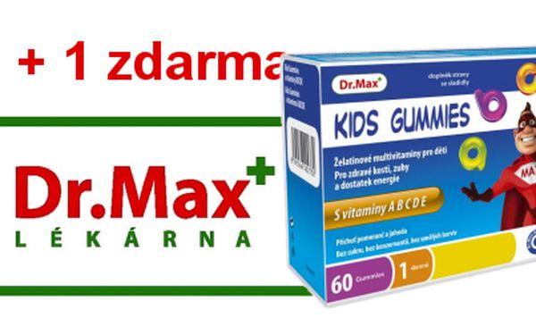 Dr.Max v OC Nový Smíchov - Dr.Max KIDS GUMMIES 60 gum + 1 balení zdarma