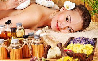 60minutová olejová thajská masáž s bylinnými měšci