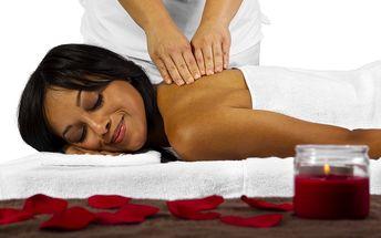 55minutová masáž dle vlastního výběru se slevou 70 %
