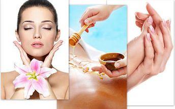 Kombinace kosmetiky, masáží a parafínového zábalu!