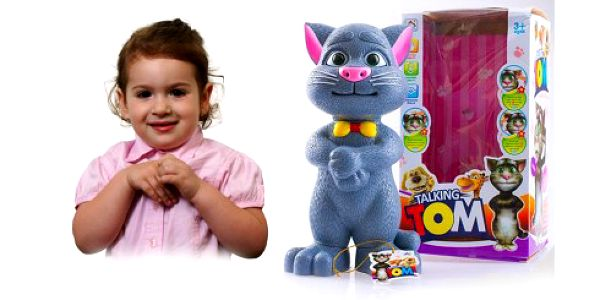 Mluvící kocour Talking Tom - úžasná hračka pro všechny děti! Talking Tom vše zopakuje, reaguje na dotek, vydává vtipné zvuky, vyprává příhěhy, zpívá písničky za úžasných 349 Kč!