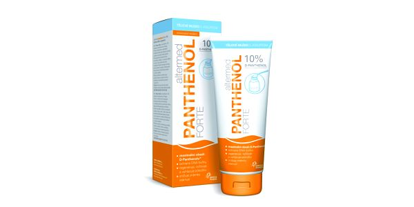 Omega Altermed Panthenol Forte 10% tělové mléko s jogurtem