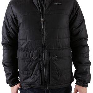 Černá pánská podzimní bunda Reebok