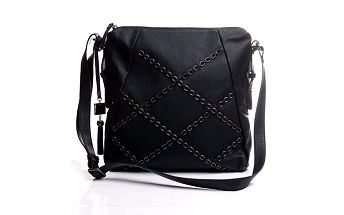 Řetízková Sisley kabelka černá přes tělo