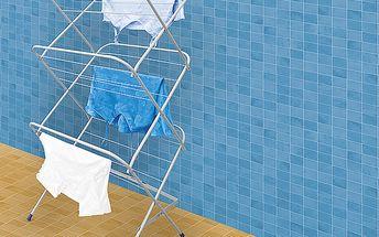 Praktický sušák kovový - jsou ideálním řešením pro malé koupelny i byty.