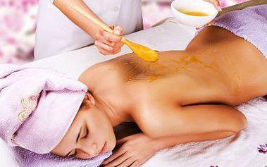 Hodinová detoxikační medová masáž se slevou 50 %