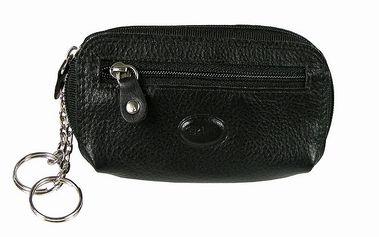 Peněženka s klíčenkou Famito 7059 Cruz černá