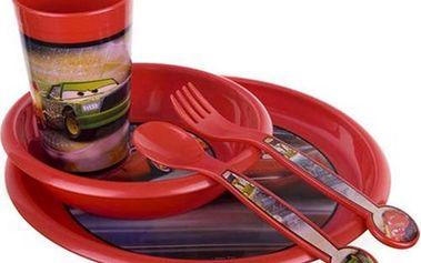 Dětská jídelní sada Cars BANQUET 5d OK