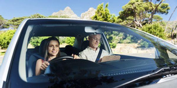 Autoškola - 5 × 90 min.kondičních jízd