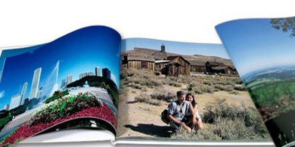 Fotokniha formátu A4 od 299 Kč! Potištěné nebo tvrdé desky a až 304 stran!