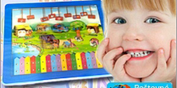 Dětský výukový 3D tablet