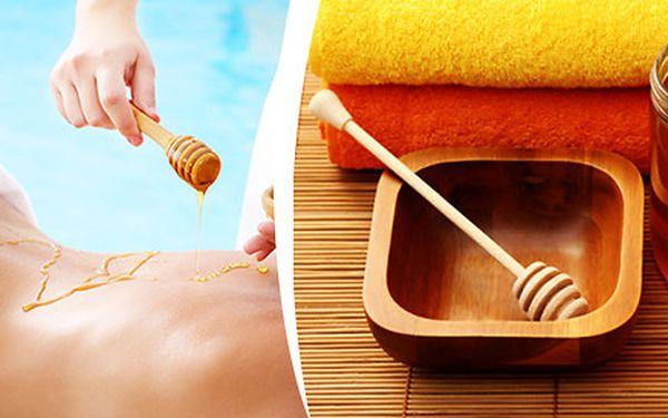 Medová detoxikační masáž zad
