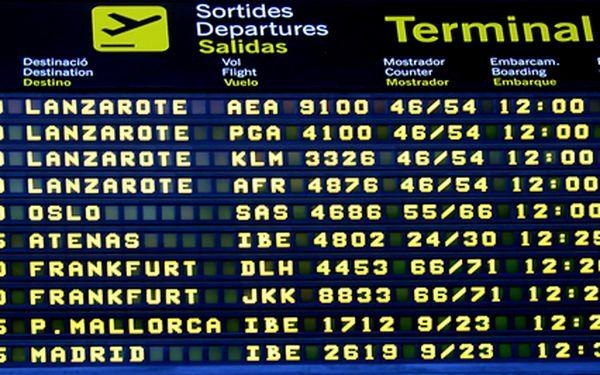 Zpáteční letenky do Španělska. Termíny na září. Užijte si konec léta ve slunečném Španělsku.