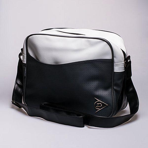 Dunlop taška přes rameno šedobílá