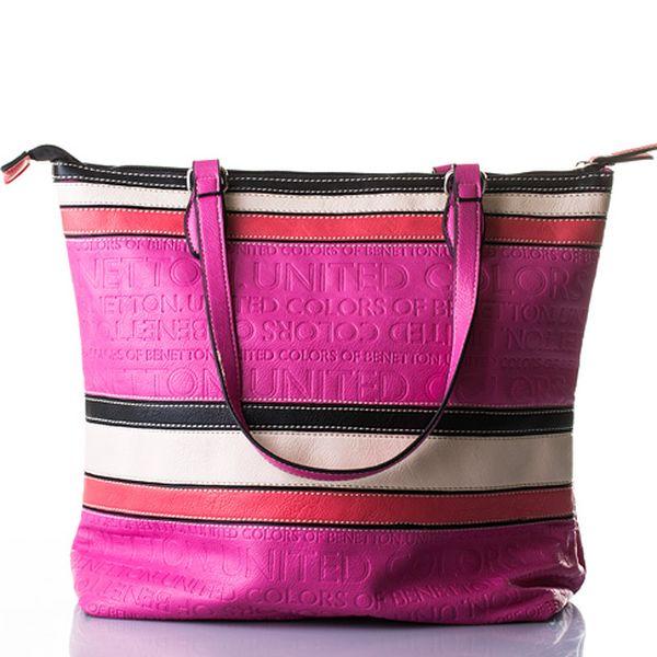 Růžová kabelka Belle II