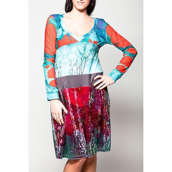 Dámské šaty se sametovou sukní Culito from Spain