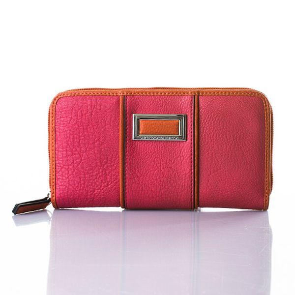 Červená peněženka Perla