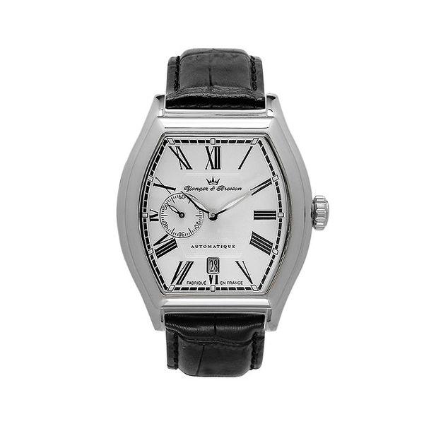 Pánské hodinky Yonger & Bresson s bílým ciferníkem