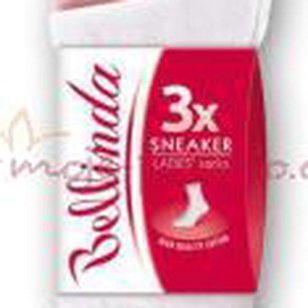 Dámské ponožky Bellinda BE485801 SNEAKER SOCKS 3P - 3 páry v balení